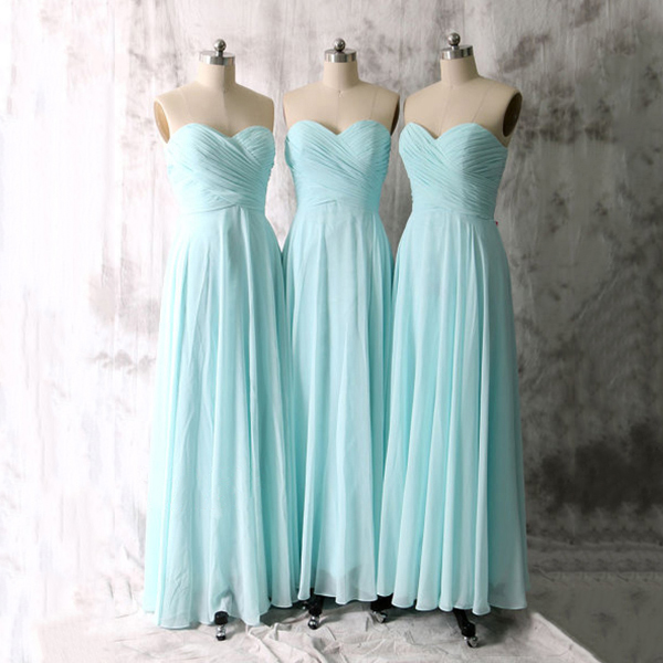 Baby blue bridesmaid dresses simple long bridesmaid for Wedding dress with blue detail
